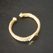 Fulaba gold dipped Fulani bracelet