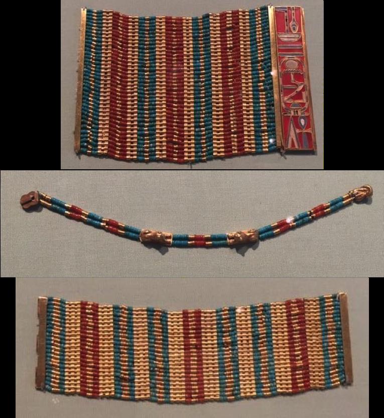 Sithathoryunet bracelets and anklet