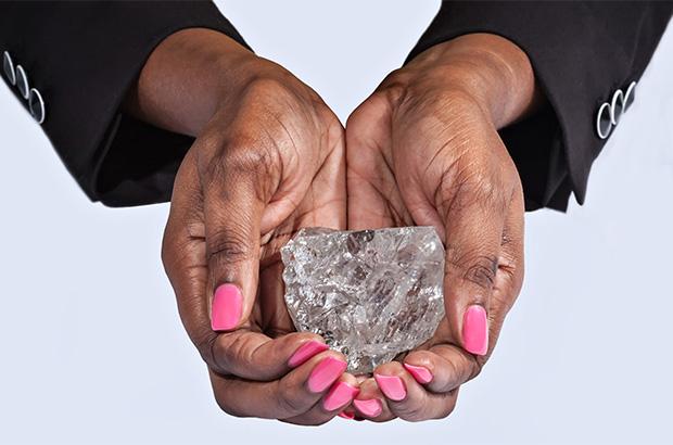 second biggest diamond ever found in Botswana