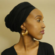 Fulaba gold-plated-Fulani-earrings
