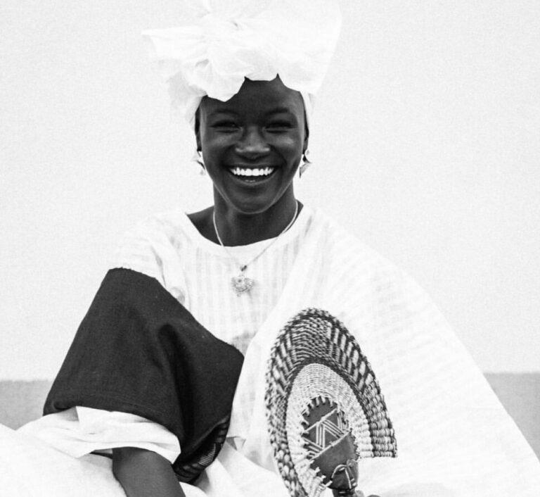 Wolof woman, Khoudia Diop