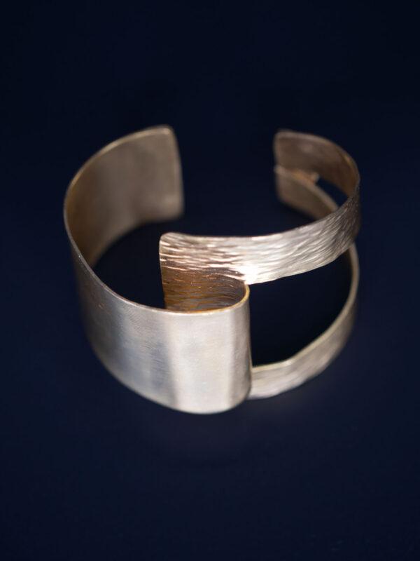Fulaba gold dipped Tukulor cuff bracelet