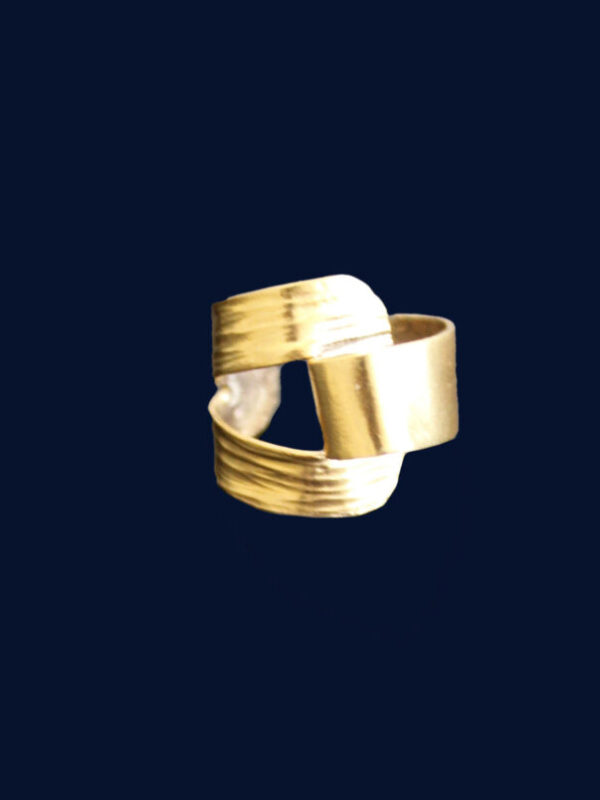 Fulaba gold dipped Tukulor earring cuff